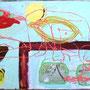 Cielo , acrylic, canvas, 160x100 cm, 2008,                € 3.000