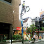 大阪アメリカ村街灯デザイン