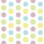 Vier Zeiten / Fruhling, Sommer, Herbst und Winter / 4 Farben 1 / 139,5 x 270 cm / Digitaldruck auf Vliestapete, 3 Bahnen