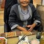 似顔絵ケーキ⑤私のおばあちゃんです(笑)