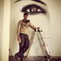 Kosmeti Salon von innen mit einem dezenten und stilistischen Auge verziert