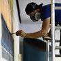 Wandgestaltung in einer Schwimmhalle