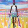 Fischer/ 2021/ oil on canvas/ 200 X 150cm