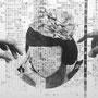 憂鬱な情報 ( ポリマー版画 / 150x200 )