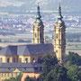 Luftbild Basilika 14 Heiligen am Staffelberg, Franken