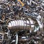 Abfall vom Abrieb Erneuerung Radsätze