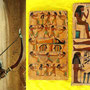 Egyptian wood panels hand painted