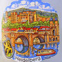 El Alte Brucke (Puente Viejo) y el Heidelberg Schloss