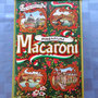 Vintage Casa Via Varicco Premium Macaroni Metal Tin Can Box Case