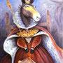 'Retrato de una mula que se creía reina', por Lynda Fenneman