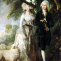 'Mr and Mrs William Hallett', por Thomas Gainsborough