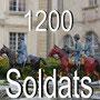 Une collection rare de 1200 soldats de plomb CBG -MIgnot tous peint à la main