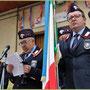 Intervento dell' Ispett. Regionale A.N.C. Tenente Vincenzo Evangelista