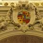 Deckenmalerei in  der Schloßkapelle