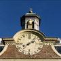 ANNO 1710 Uhr und Glockenturm an der Schlosskapelle