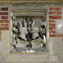Wappen über der Zugbrücke