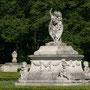 Die größteSkulptur mitten auf der Venusinsel vom Schloss Nordkirchen.