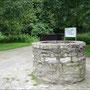 Brunnen auf der Vorburg.