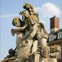 Skulpturen auf der Terassentreppe vom Schloss Nordkirchen.