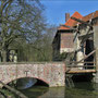 Tor mit Zugbrücke