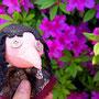 011番ちゃんと錬金術師でおでかけにいったよ。きれいなつつじの花。