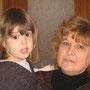 Claudia e la nonna Emilia