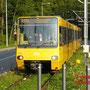 DT8.4 3015 fährt in die neue Station Ruhbank ein.