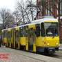 Sonntagsverkehr in Friedrichshagen. Ein KT4D-M am Marktplatz.