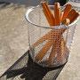 デットストック折れ定規とステンレスの籠。籠はもうちょっと大きいのもあり〼。