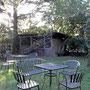 この中庭で秋の収穫祭。程よいスペース!