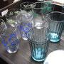 グラスも好きでいろいろ持って来ています。アンカーコップは珍しいかも。