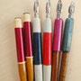 ペン先があってもペン軸なかったらなぁ、ってことでペン軸あります。