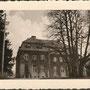 Kraftshagen - Krawczyki, Ostpreußen - Polen (1939), Rückseite des L-förmigen Gutshauses