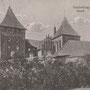 Burg Neidenburg - Nidzica, Ostpreussen - Polen (um 1920)