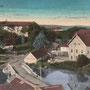 Hasenpoth - Aizpute, Kurland, Lettland (um 1916), Blick auf die alte Burg