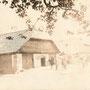 Charlottenhof bei Illuxt - Sarlote bei Ilukste (1917), Stallungen