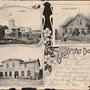 Alt-Dollstädt - Stare Dolno, Ostpreussen, Polen (um 1907)