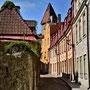 Reval - Tallinn, Estland (2016) Gasse entlang der Stadtmauer