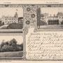 Meischlitz - Mysleta, Ostpreussen, Polen (um 1901)