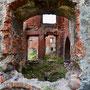 Schloss Insterburg - Tschernjachowsk, Ostpreussen, Russland, Kaliningrad (2013), Innenhof