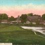 Burgruine Wolmar - Valmiera, Livland - Lettland (um 1919)