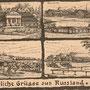 Gut Schemo - Schemetowo/Shemetovo, Wilna - Weißrussland/Belarus (1916)