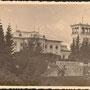 Schloss Schwanenburg - Gulbene, Livland, Lettland (hist. Ansicht), Parkseite