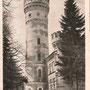 Schloss Raudon - Raudone, Kowno - Litauen (historische Ansicht), der 33 Meter hohe Hauptturm