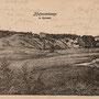 Burghügel und Burgruine Terweten, Hofzumberge - Tervete, Kalnamuiza, Kurland, Lettland (um 1916)