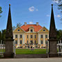 Schloss Palms - Palmse, Estland (2016), Auffahrt