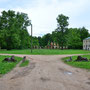 Elley, Ellei - Eleja, Kurland - Lettland (2019), die Hofanlage