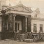Bislang unbekanntes Herrenhaus in Ostpreußen, an der Memel, Gegend Schillehnen (um 1915), evtl. Litauen