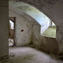 Salessje - Zalesje, Witebsk, Lettland (2016), Blick in die Kellergewölbe, Lost Place
