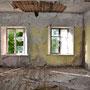 Nowa Mysl - Jaundome, Witebsk, Lettland (2016), Blick in das Innere, Lost Place